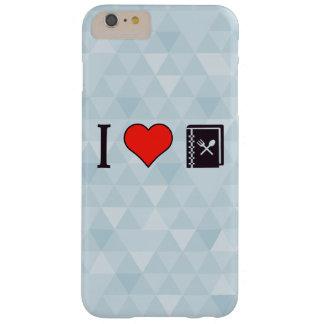I corazón que intenta nuevas recetas funda barely there iPhone 6 plus
