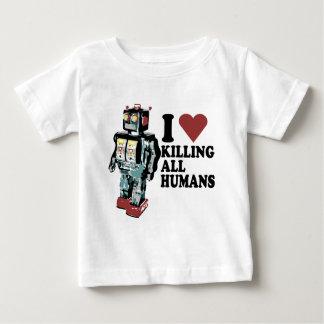 I corazón que mata a todos los seres humanos poleras