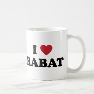 I corazón Rabat Marruecos Taza