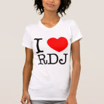 I corazón RDJ Camiseta
