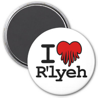I corazón R'lyeh Imán Redondo 7 Cm