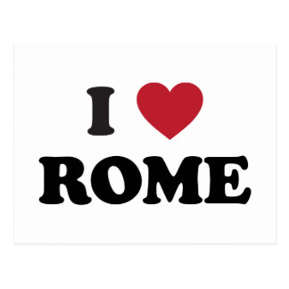 I corazón Roma Italia Postales