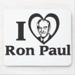 I CORAZÓN RON PAUL - Mousepad Tapete De Ratón