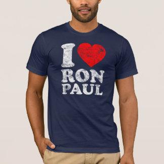 I corazón Ron Paul Playera