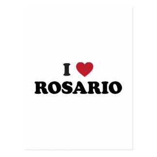 I corazón Rosario la Argentina Postales