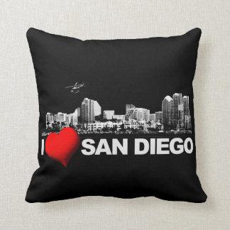 I corazón San Diego Cojín