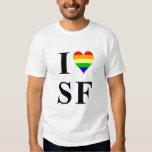 I corazón San Francisco del gay Camisas