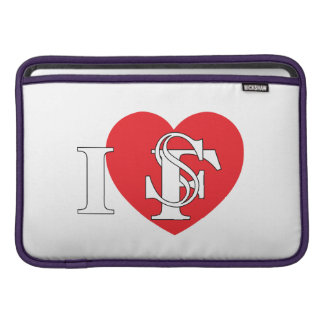 I corazón San Francisco Fundas Para Macbook Air