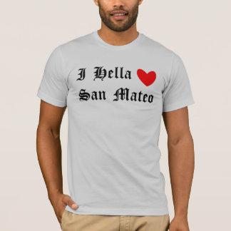 I corazón San Mateo de Hella Playera