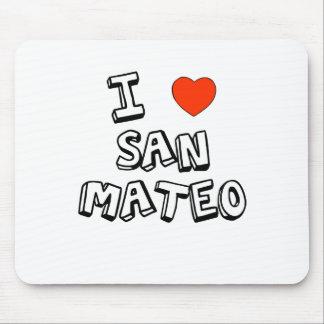 I corazón San Mateo Tapete De Ratón