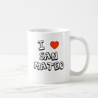 I corazón San Mateo Taza