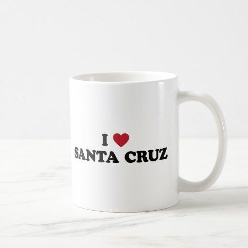 I corazón Santa Cruz Taza De Café