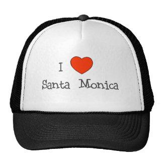 I corazón Santa Mónica Gorra
