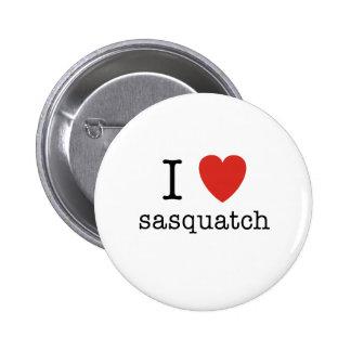 I corazón Sasquatch Pins