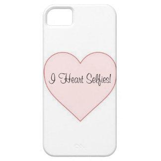 ¡I corazón Selfies! Caso de Iphone iPhone 5 Case-Mate Protectores