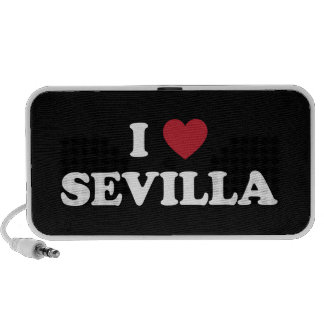 I corazón Sevilla España Portátil Altavoz