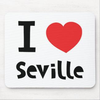 I corazón Sevilla Mousepads