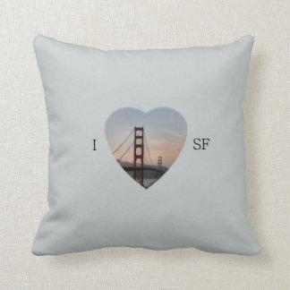 I corazón SF Cojín