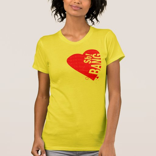 ¡I corazón Sh! EXPLOSIÓN Camisetas