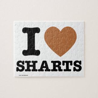 I corazón Sharts Puzzle