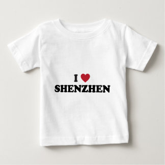 I corazón Shenzhen China Playera De Bebé