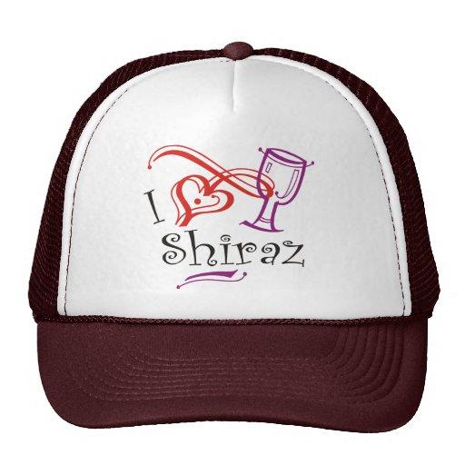 I corazón Shiraz Gorros