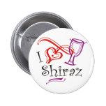 I corazón Shiraz Pin