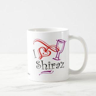 I corazón Shiraz Taza De Café