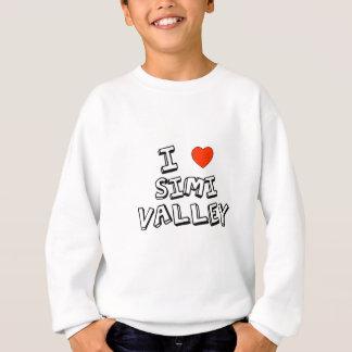 I corazón Simi Valley Sudadera