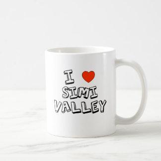 I corazón Simi Valley Taza Clásica