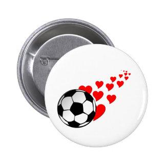 I corazón soccer2 pins