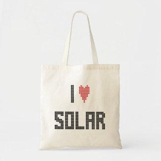 I corazón solar - bolso bolsa tela barata