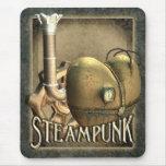 I corazón Steampunk Mousepad Alfombrillas De Raton