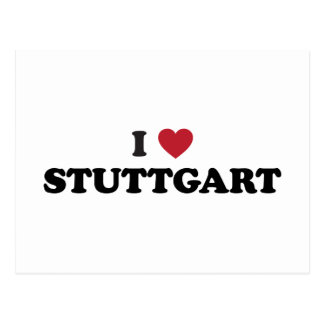 I corazón Stuttgart Alemania Postales