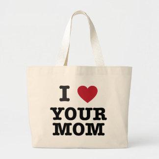 I corazón su mamá bolsa de mano