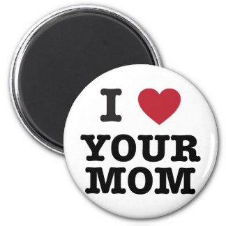 I corazón su mamá imanes