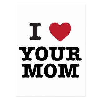 I corazón su mamá postales