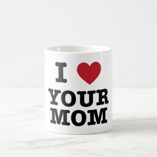 I corazón su mamá taza
