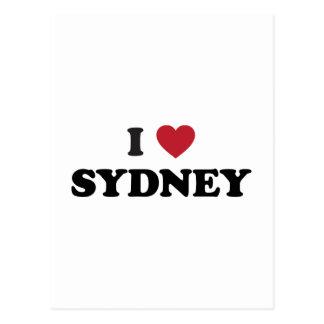I corazón Sydney Australia Tarjetas Postales