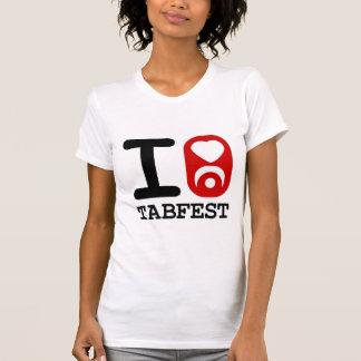 I corazón Tabfest - camisetas sin mangas de las