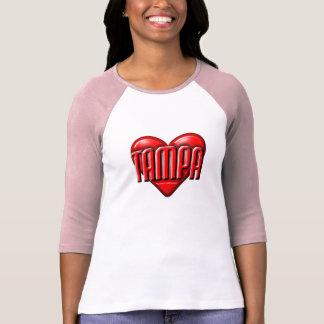 I corazón Tampa Camisetas