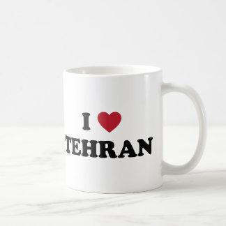 I corazón Teherán Irán Tazas De Café
