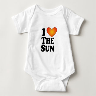 I (corazón) The Sun - Multi-Productos de Lite Mameluco De Bebé