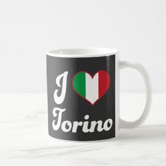 I corazón Torino Italia amor Taza
