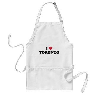 I corazón Toronto Canadá Delantal