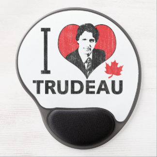 I corazón Trudeau Alfombrillas Con Gel