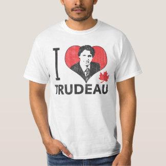 I corazón Trudeau Camisas