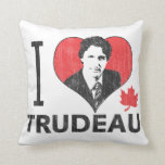 I corazón Trudeau Cojín Decorativo
