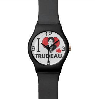 I corazón Trudeau Reloj De Mano