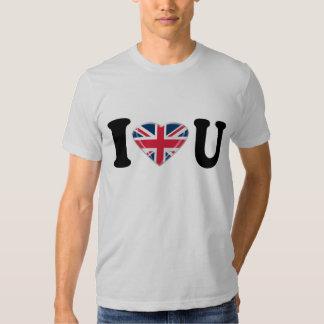I corazón U con diseño del corazón de Union Jack Polera